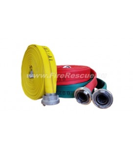 EUROFLEX TX SPECIAL IRK FIREFIGHTING PRESSURE HOSE 52-C WITH STORZ COUPLINGS