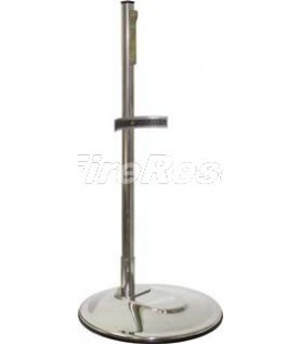 SINGLE STAINLESS STEEL INOX 304 STAND FOR FIRE EXTINGUISHER 4-6 KG/L