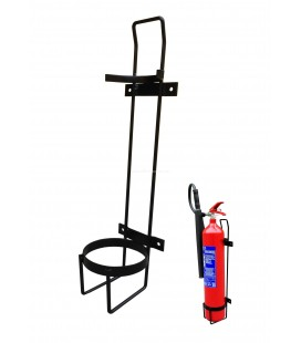 WALL BRACKET FOR FIRE EXTINGUISHER - CO2 5 KG