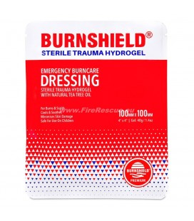 BURNSHIELD BRANDWUNDENVERBAND KOMPRESSE 10 x 10 CM